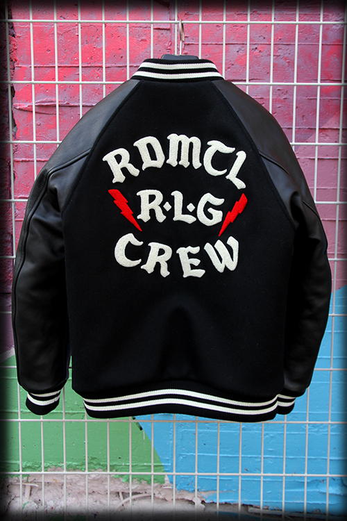 "Iron-On Letters ""RDMTL R.L.G CREW"" 2015 STUDIUM JKT_e0325662_15181555.jpg"