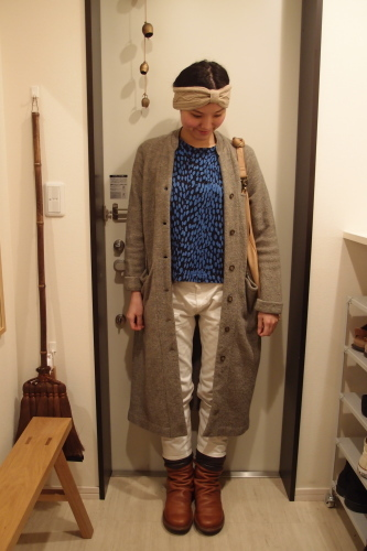 得意色 冷え取りファッション14 12/23_c0342582_17330495.jpg