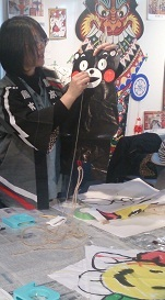 昔遊び「凧作り教室」を開催しました  2014年12月20日_b0228113_09372400.jpg