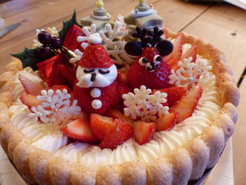 クリスマスケーキ_a0288621_16535460.jpg