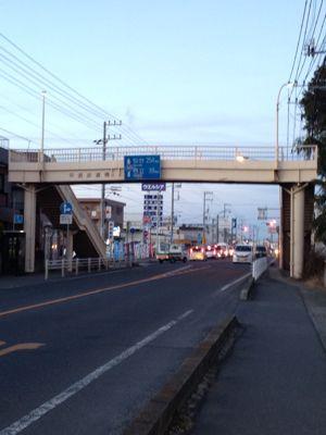 夕方ランニング  in  水戸♪_b0203925_18545091.jpg