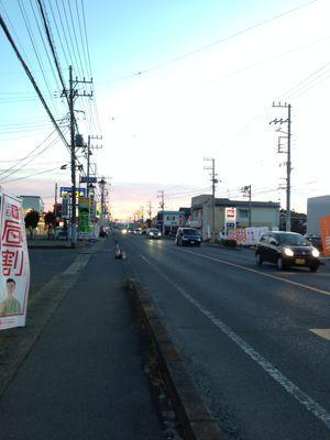 夕方ランニング  in  水戸♪_b0203925_18545164.jpg