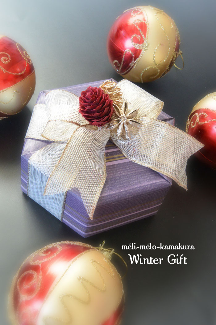 ◆Wrapping*Winter Gift_f0251032_11203098.jpg