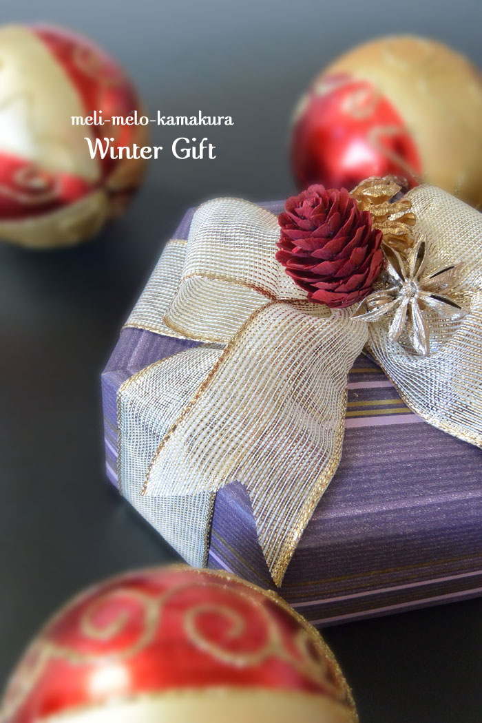 ◆Wrapping*Winter Gift_f0251032_11221472.jpg