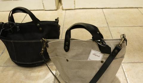 TAMPICOから、帆布のミニトートバッグです。_c0227633_2220271.jpg