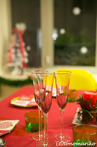 『島っ子りんちゃん』とクリスマス餃子パーティー_c0024345_22231762.jpg