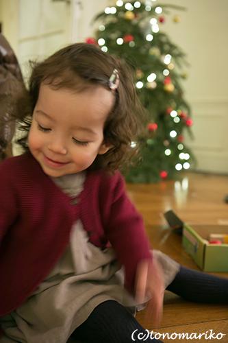 『島っ子りんちゃん』とクリスマス餃子パーティー_c0024345_22235177.jpg