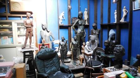 作業日誌(彫刻 石膏原型作品運搬作業)_c0251346_18205966.jpg