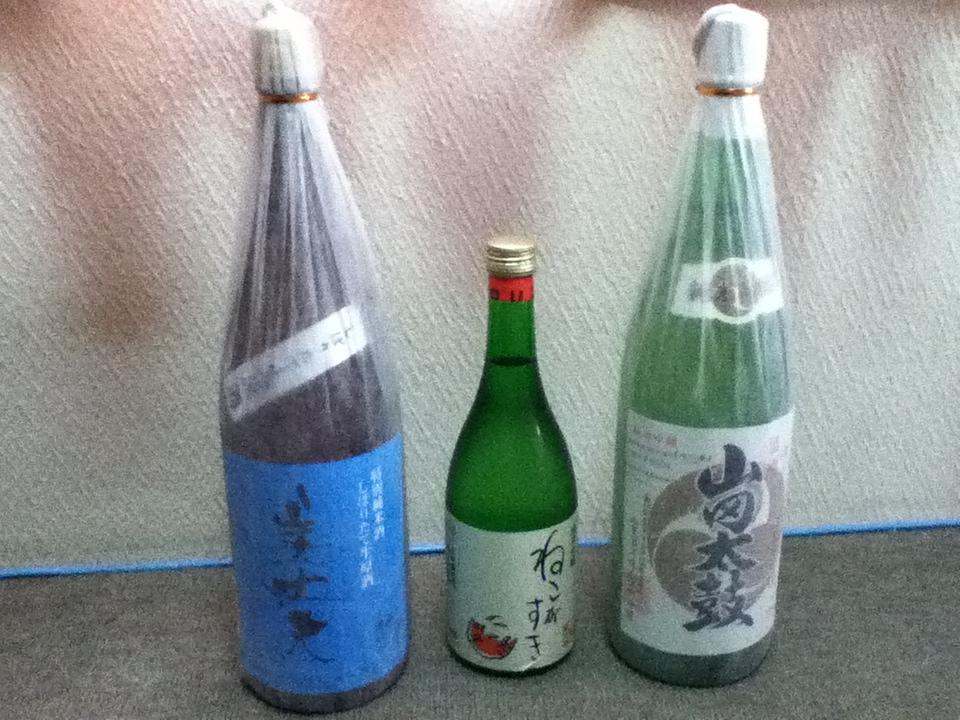 高知から土佐酒が届きました。_f0291565_10164529.jpg