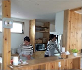 「 家事がしやすい部屋づくり 」取材先にて その3_c0199166_10174216.jpg