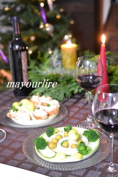 クリスマス キャンドル卓♪_d0169179_2374699.jpg