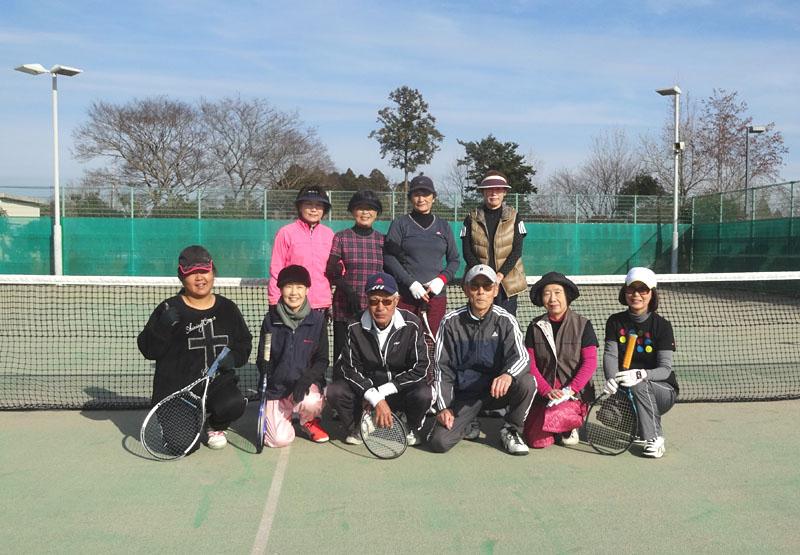 今年最後のシニアテニス練習会_b0114798_1614135.jpg