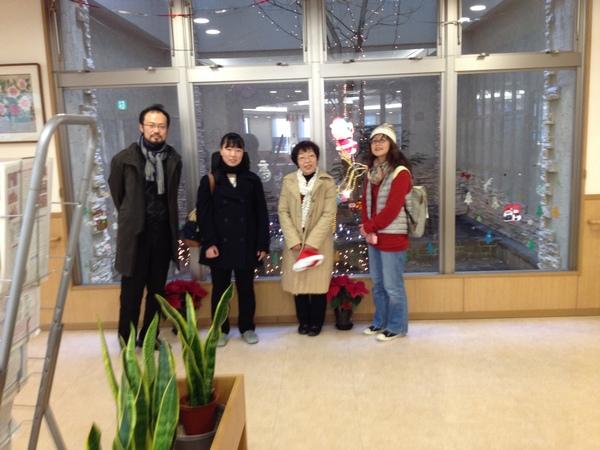 12/25(木)介護老人保健施設うらら クリスマス会出演_e0159902_17395024.jpg