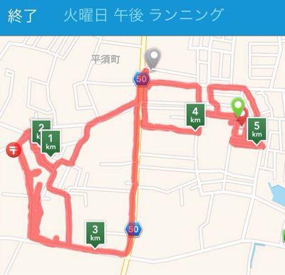 夕方ランニング  in  水戸♪_b0203925_205172.jpg