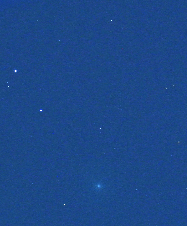 ラブジョイ彗星(C/2014 Q2)@はと座(2014年12月24日)_e0089232_00111393.jpg