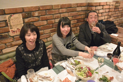 EVISU クリスマスディナーパーティー2014_a0154045_15231511.jpg