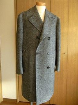 「コートが欲しい!」 ~あれから4年~ 「アルスターコート」を誂える 編_c0177259_19552337.jpg