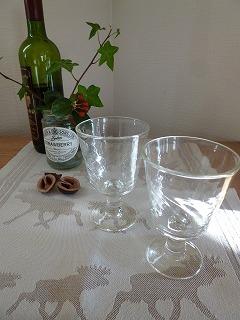 merry christmas    東北の手仕事 ワイングラスと☆_a0165160_08571360.jpg