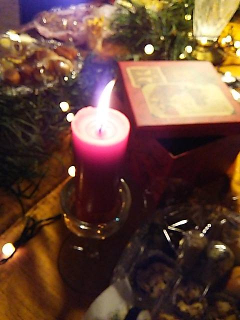 Silent night, holy night☆きよし この夜☆ 温かな贈り物Merry Christmas☆Joy and Peace to You☆*†*_a0053662_14375236.jpg