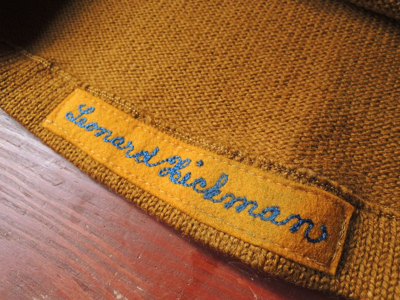 NEW ITEM & 40S50S Mc.MILLAN LETTERED CARDIGAN--RECOMMEND--_c0176867_12425038.jpg