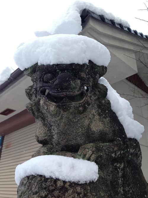 雪の散歩道_e0158970_1942193.jpg