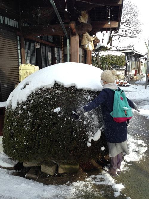 雪の散歩道_e0158970_1945523.jpg