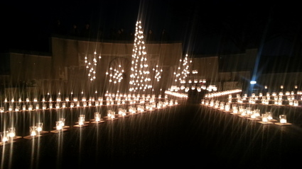 12/21 Candle Garden @ イタリア山庭園_b0042308_0173051.jpg