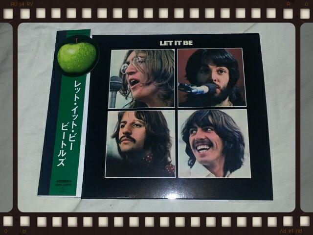 THE BEATLES / LET IT BE 紙ジャケ_b0042308_0375247.jpg