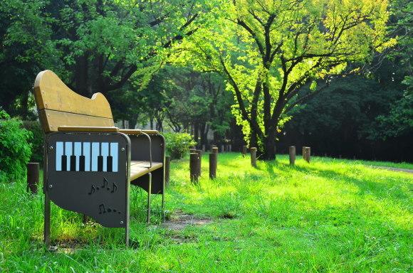 音座 佐々木 篤史さん 等々力緑地内で撮影