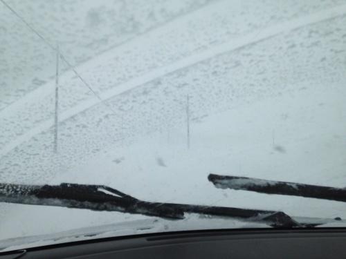 雪に埋れた圃場_c0335145_18562553.jpg