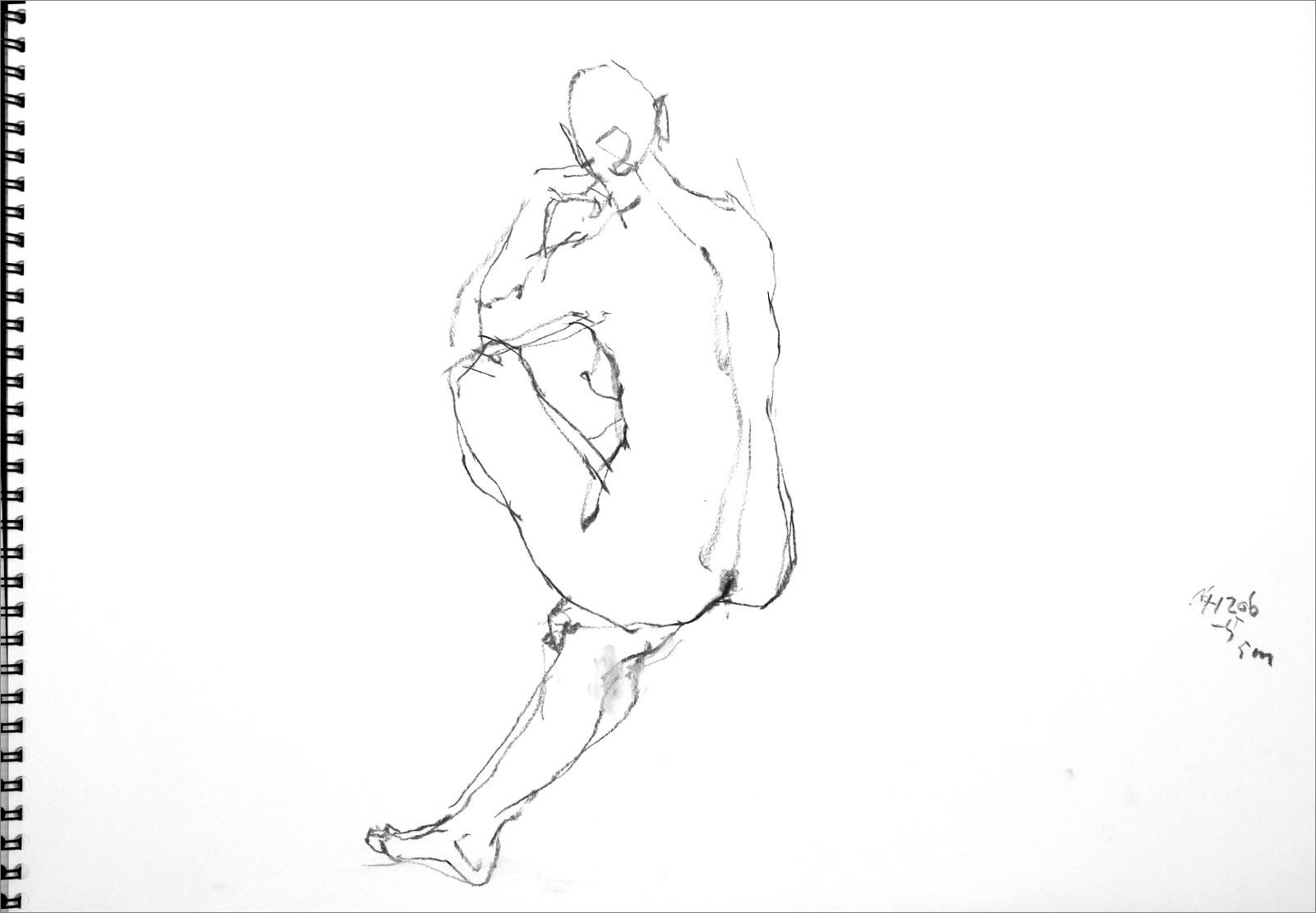 《 クロッキー(croquis)する。Ⅵ ・・・ 「裸婦線描」》 _f0159856_21152060.jpg