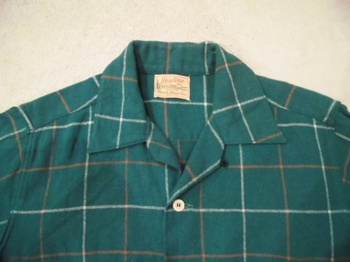 50\'s Wool Loop Shirts_e0187362_182948100.jpg