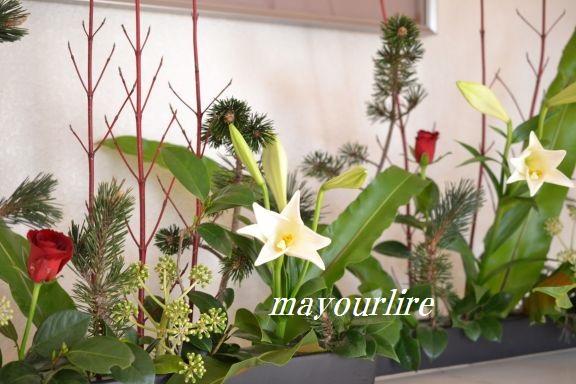 12月 テーブルコーディネート マユールライラ 海吉教室_d0169179_22332770.jpg