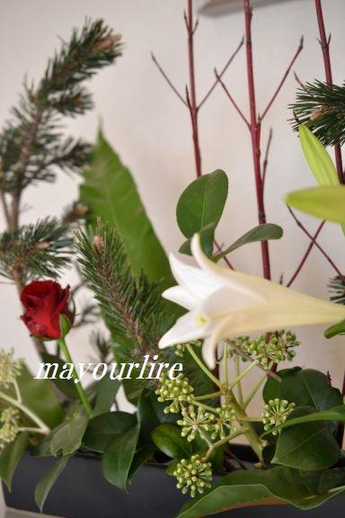 12月 テーブルコーディネート マユールライラ 海吉教室_d0169179_2233559.jpg