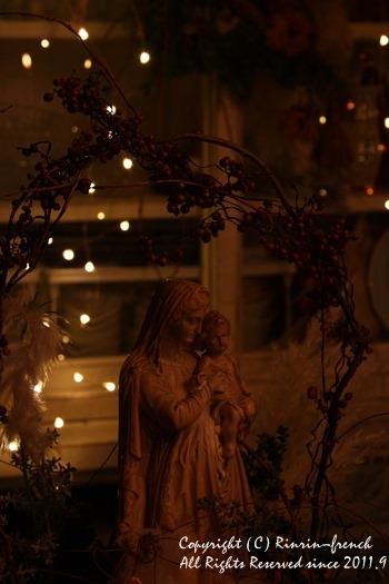 クリスマスのテーブル 2014 不思議な森に包まれて_e0237680_20201984.jpg
