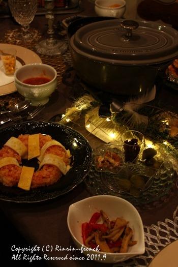 クリスマスのテーブル 2014 不思議な森に包まれて_e0237680_20275749.jpg