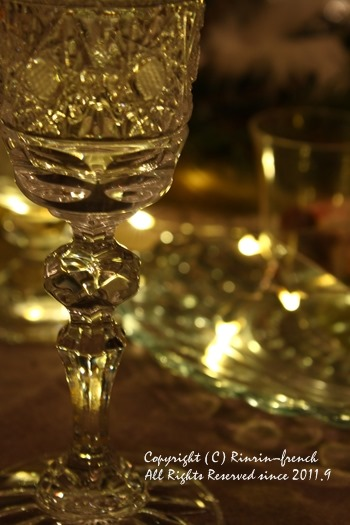 クリスマスのテーブル 2014 不思議な森に包まれて_e0237680_20285531.jpg