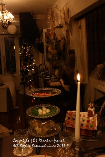 クリスマスのテーブル 2014 不思議な森に包まれて_e0237680_20371291.jpg