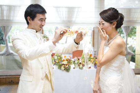 秋の装花 結婚式、楽しく過ごした一日に 雨上がり オレアジ様へ_a0042928_1934946.jpg