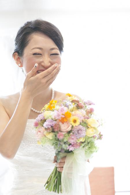 秋の装花 結婚式、楽しく過ごした一日に 雨上がり オレアジ様へ_a0042928_193724.jpg