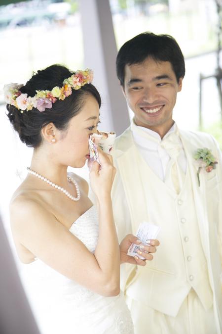 秋の装花 結婚式、楽しく過ごした一日に 雨上がり オレアジ様へ_a0042928_1955137.jpg