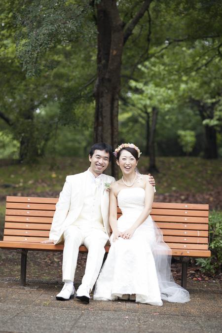 秋の装花 結婚式、楽しく過ごした一日に 雨上がり オレアジ様へ_a0042928_196865.jpg