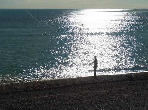 年末の釣り人 ( Pecheur de fin d\'annee ) …… 。_b0287748_513364.jpg