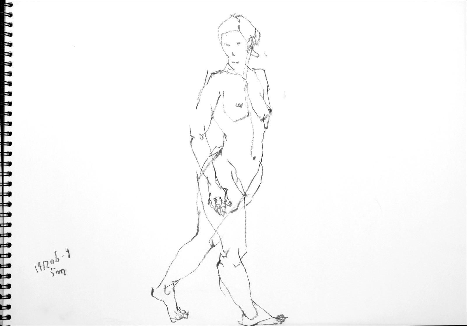 《 クロッキー(croquis)する。Ⅵ ・・・ 「裸婦線描」》 _f0159856_103302.jpg