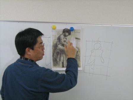油彩人物「外人女性を描く」_f0238969_1123082.jpg
