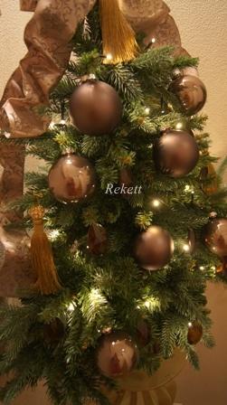 REKETTオリジナルクリスマスツリー&オリジナルフラワーキャンドルペアーで!_f0029571_10382866.jpg