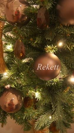 REKETTオリジナルクリスマスツリー&オリジナルフラワーキャンドルペアーで!_f0029571_10394117.jpg