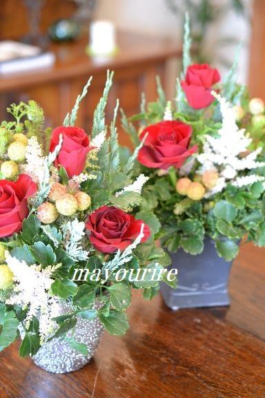 12月 NO.2 テーブルコーディネート マユールライラ 海吉教室_d0169179_23501349.jpg