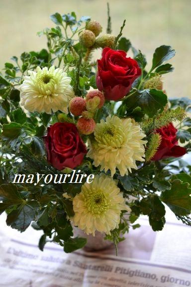 12月 NO.2 テーブルコーディネート マユールライラ 海吉教室_d0169179_23521322.jpg