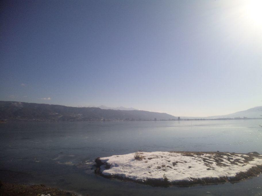 諏訪湖・結氷_b0329588_13383454.jpg